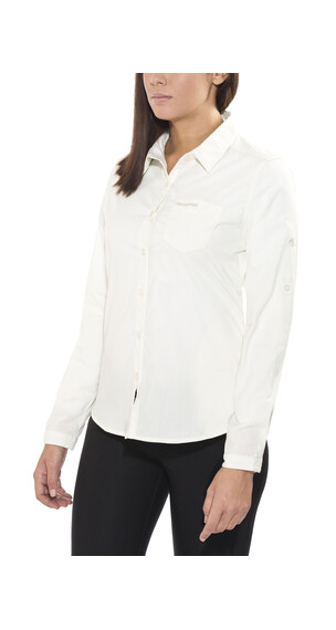 Craghoppers Kiwi overhemd en blouse lange mouwen Dames wit